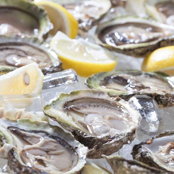 ostras-limon