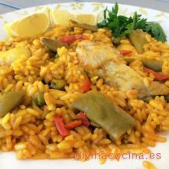 paella-de-pollo-y-verduras