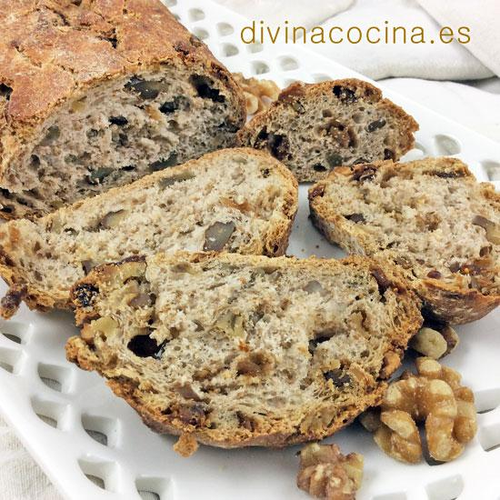 Pan de nueces con higos secos