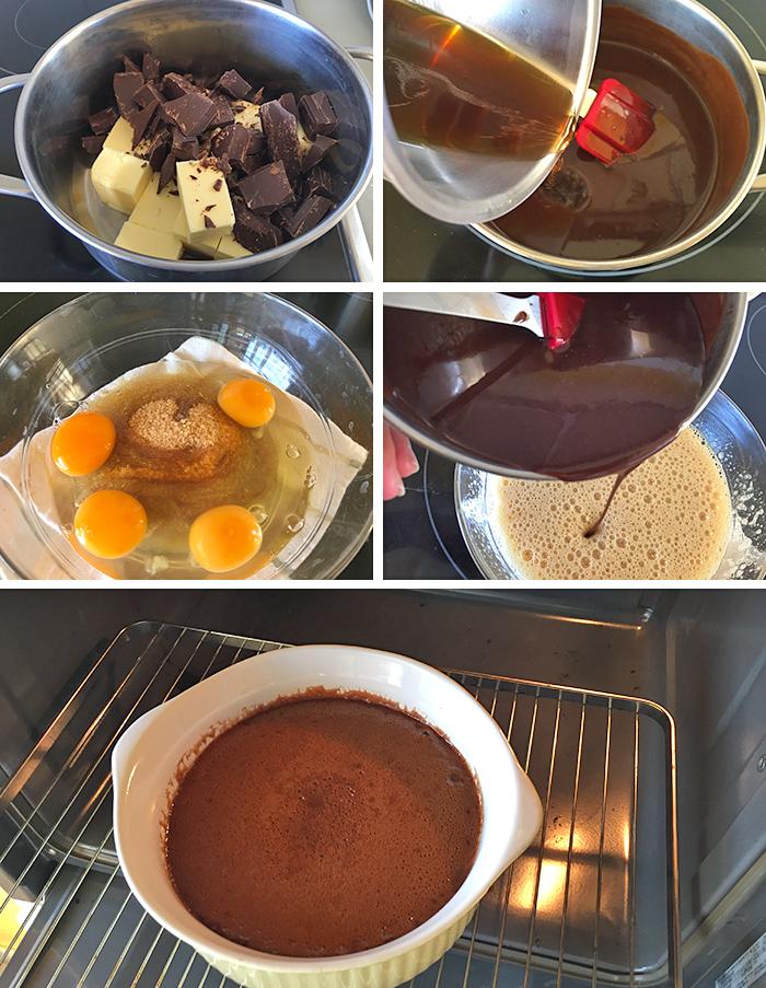 pastel sueco chocolate paso a paso