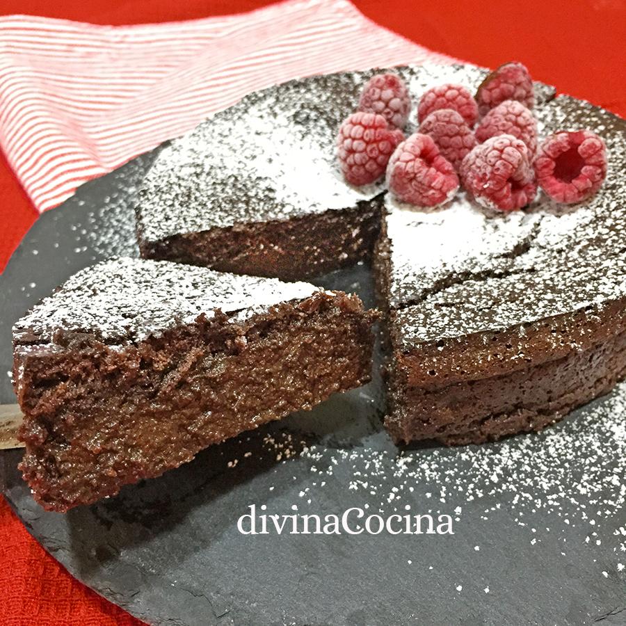pastel sueco de chocolate