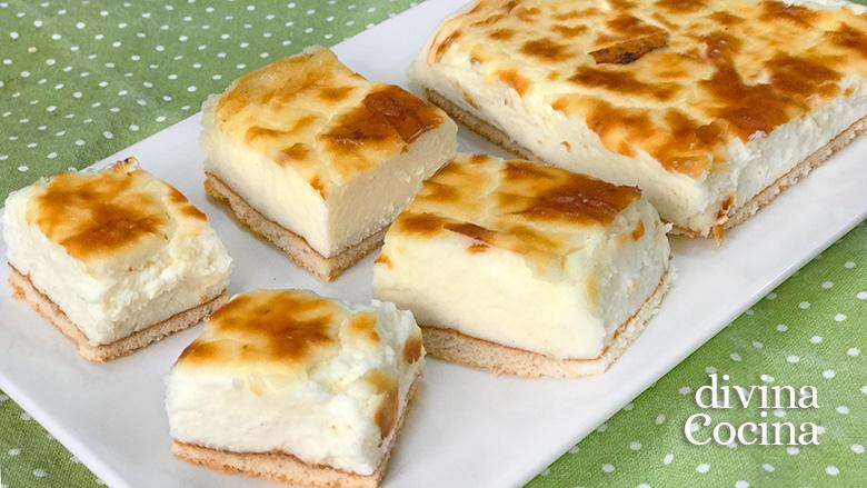 pasteles de queso faciles F