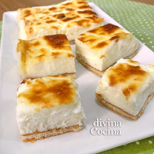 pasteles de queso faciles D