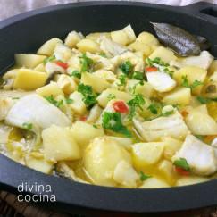 patatas-con-bacalao-cazuela