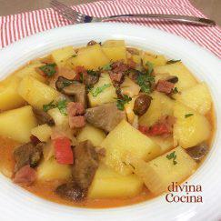 patatas-con-setas