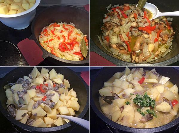 patatas-con-setas-paso-a-paso
