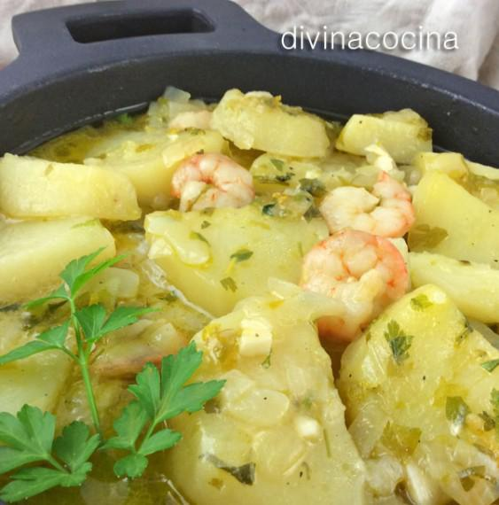 patatas-en-salsa-verde-detalle