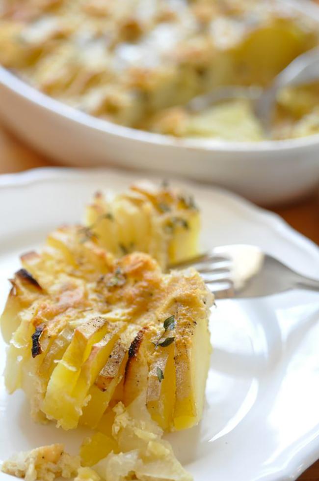 patatas gratinadas cebolla y queso 2