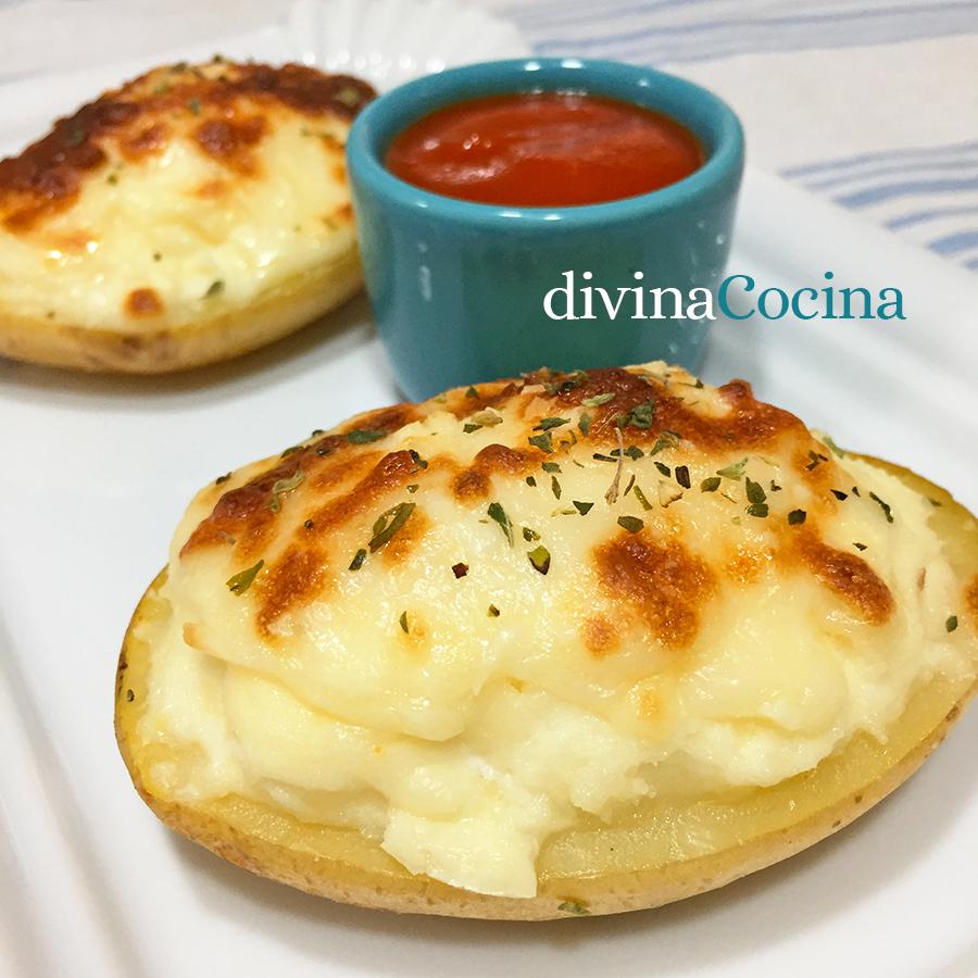 patatas rellenas de queso