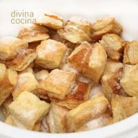 Pellizcos de hojaldre dulces