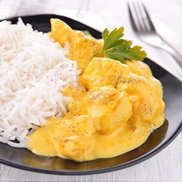 Pollo al curry divina cocina - Platos de pollo faciles ...