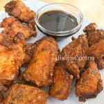 Pollo frito con soja y miel