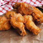 Pollo frito americano estilo sureño