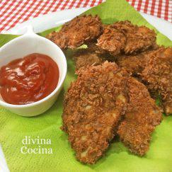 pollo-rebozado-corn-flakes