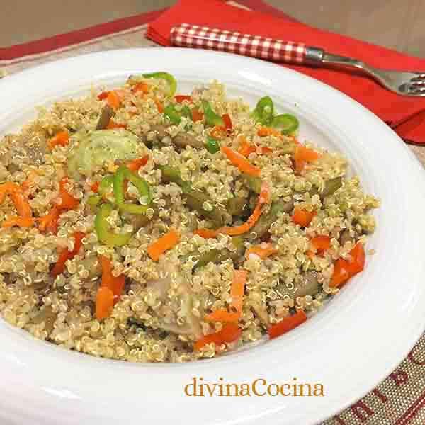 receta de quinoa con verduras divina cocina