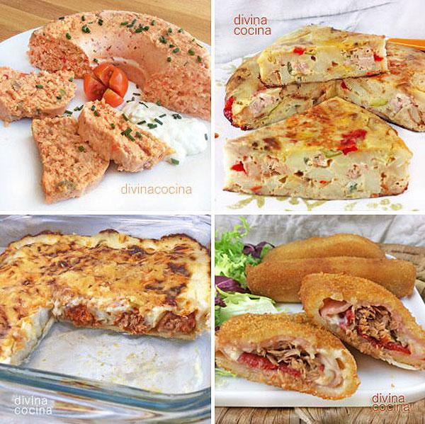 7 recetas caseras con at n en conserva divina cocina for Tecnicas gastronomicas pdf