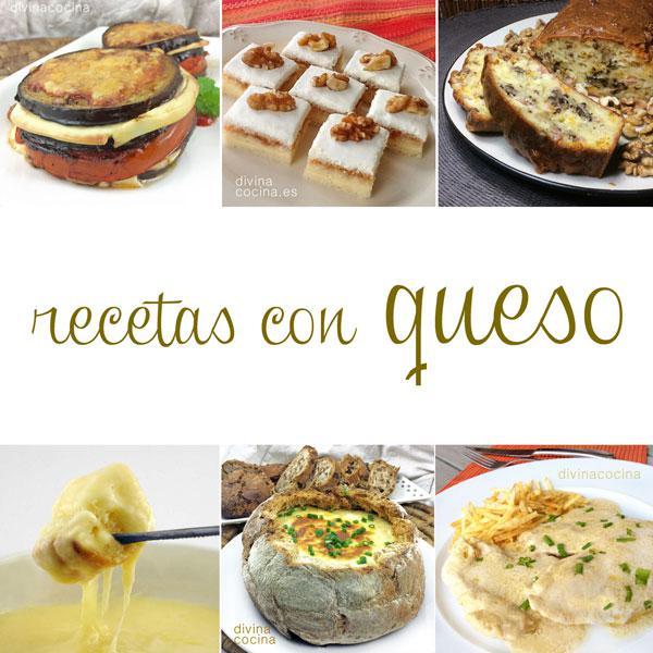 Recetas con queso divina cocina for Tecnicas gastronomicas pdf