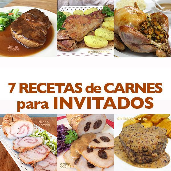 7 recetas de carne para invitados divina cocina - Cenas faciles para invitados ...