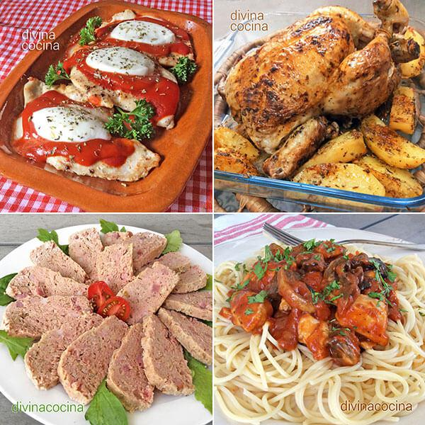 7 recetas f ciles con pollo divina cocina - Comidas con pollo faciles ...