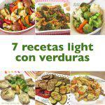 7 recetas light con verduras