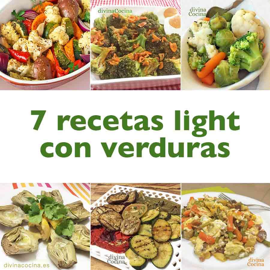 7 recetas light con verduras divina cocina for Buscar comidas caseras