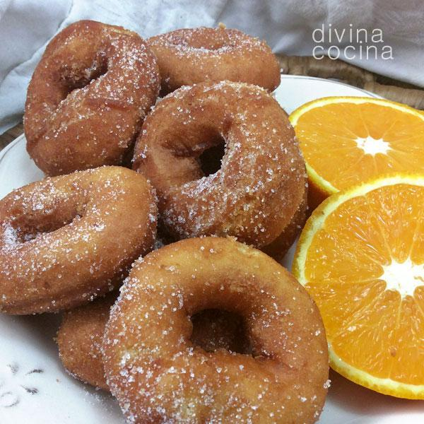 Rosquillas de naranja