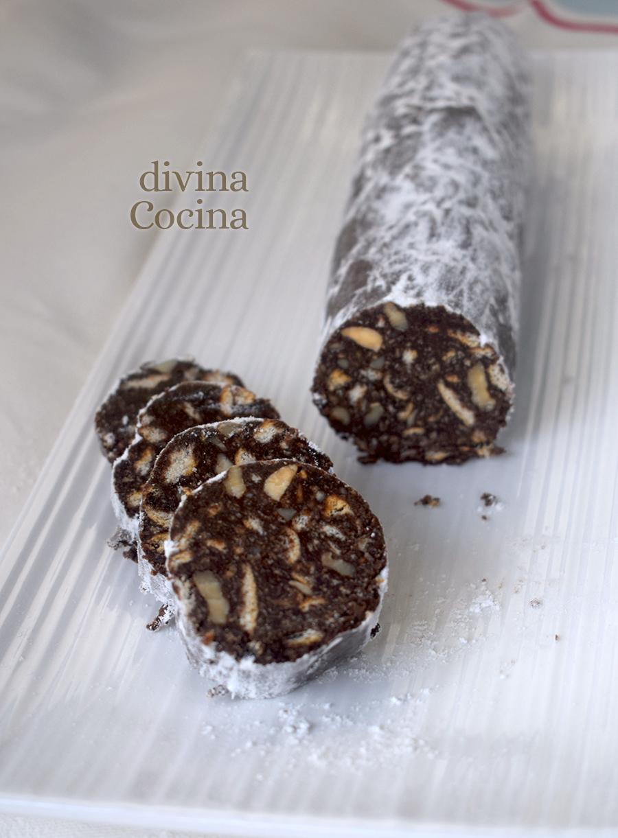 salchichon de chocolate D