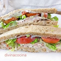sandwich-pollo-roquefort