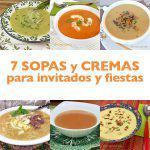 7 sopas y cremas para invitados