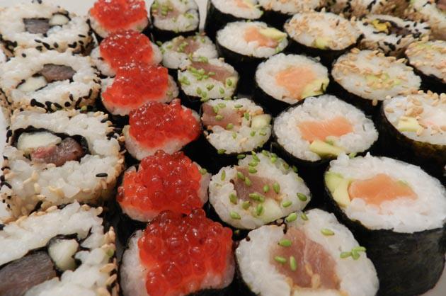 Perfeccionando el sushi (con ayuda)
