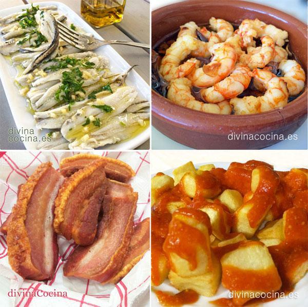 7 tapas cl sicas espa olas para compartir divina cocina for Tecnicas gastronomicas pdf