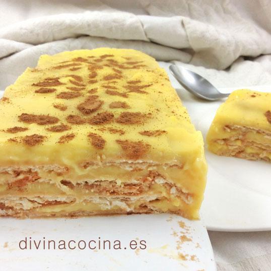 tarta-de-flan-con-galletas-de-canela
