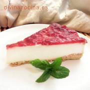 tarta-de-queso-sin-horno-porcion