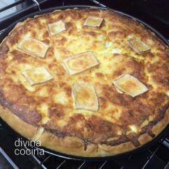 tarta-salada-queso-en-el-horno