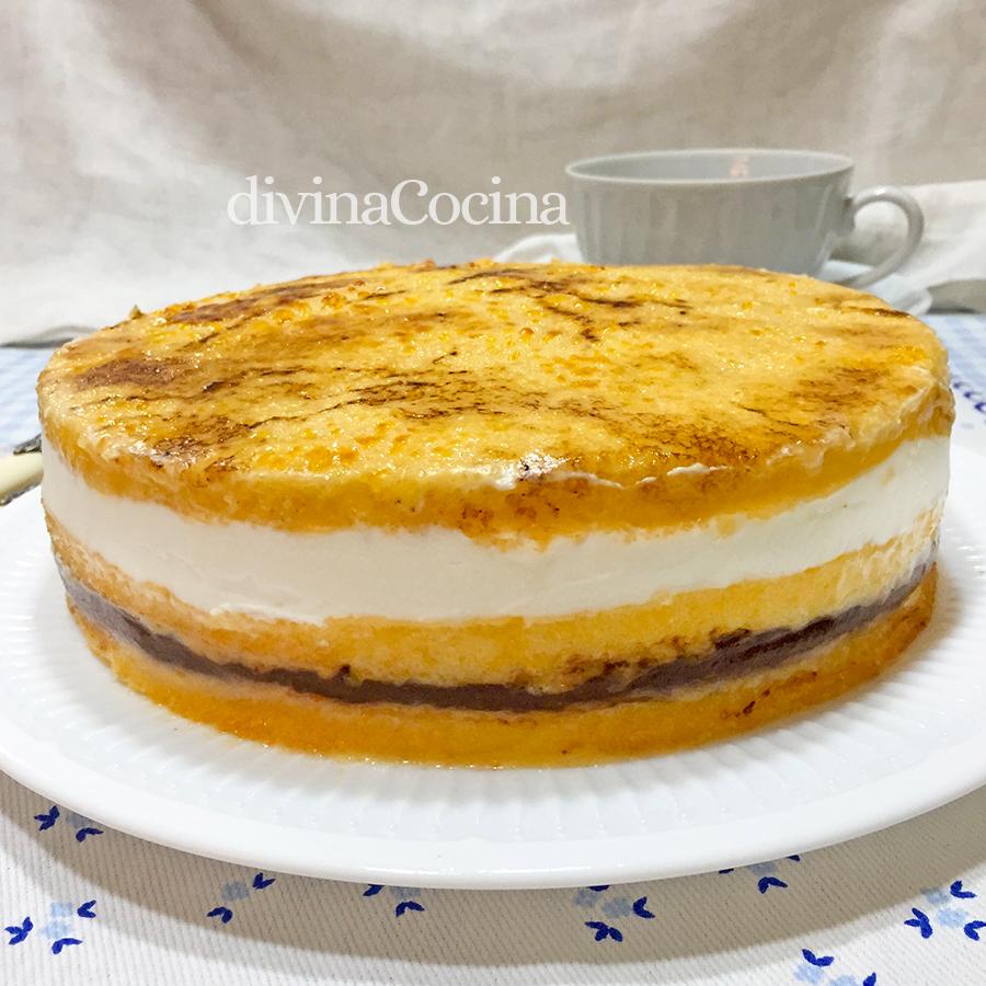 Receta De La Tarta San Marcos Paso A Paso Divina Cocina