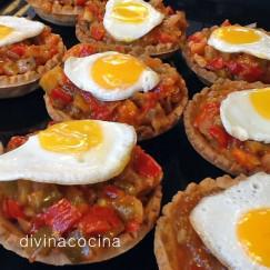 tartaletas-de-pisto-con-huevos