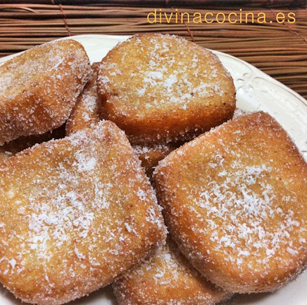Torrijas de leche de coco en Leche de coco