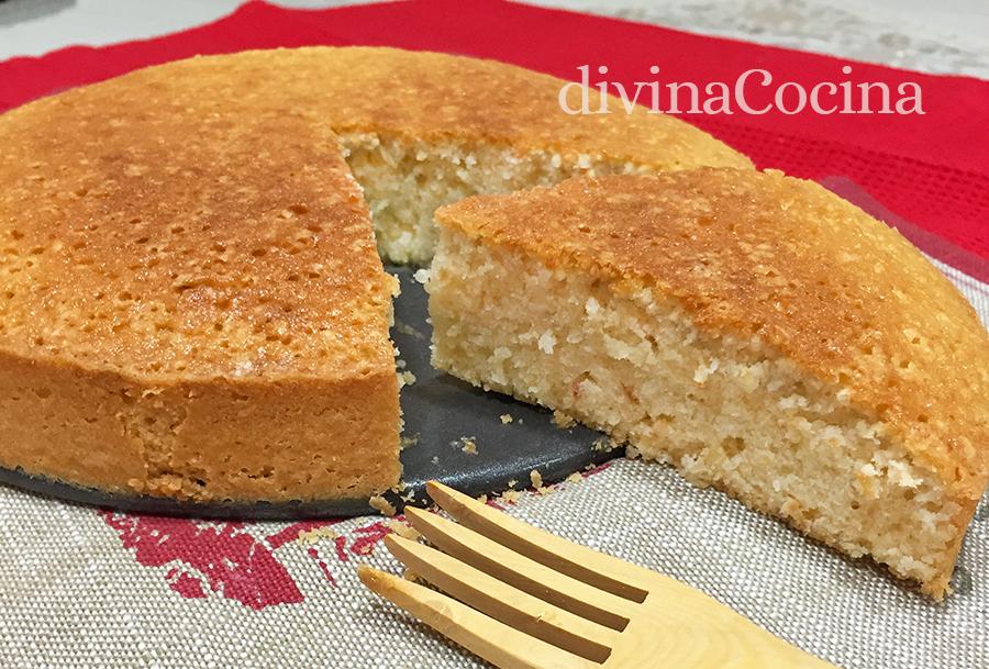 torta bizcocho avellanas