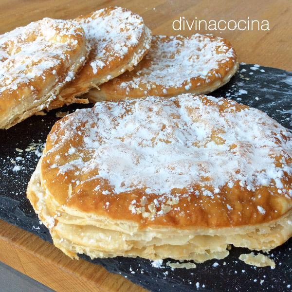 Tortas de hojaldre y azúcar en Tortas de chorizo