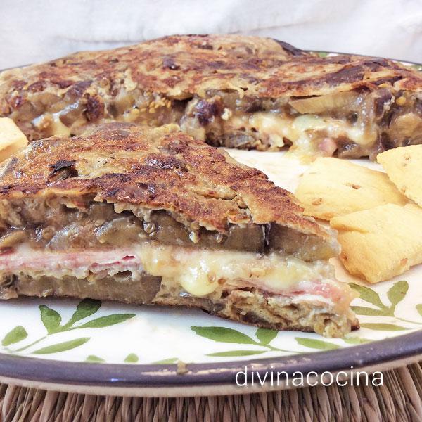 tortilla-de-berenjenas-jamon-y-queso