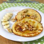 Tortitas de plátano y yogur