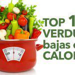 Top 10 verduras bajas en calorías