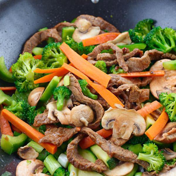 receta verduras al wok