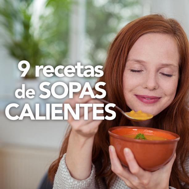RECETAS DE SOPAS CALIENTES