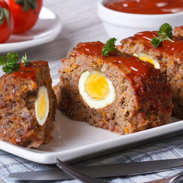 rollo de carne a la italiana
