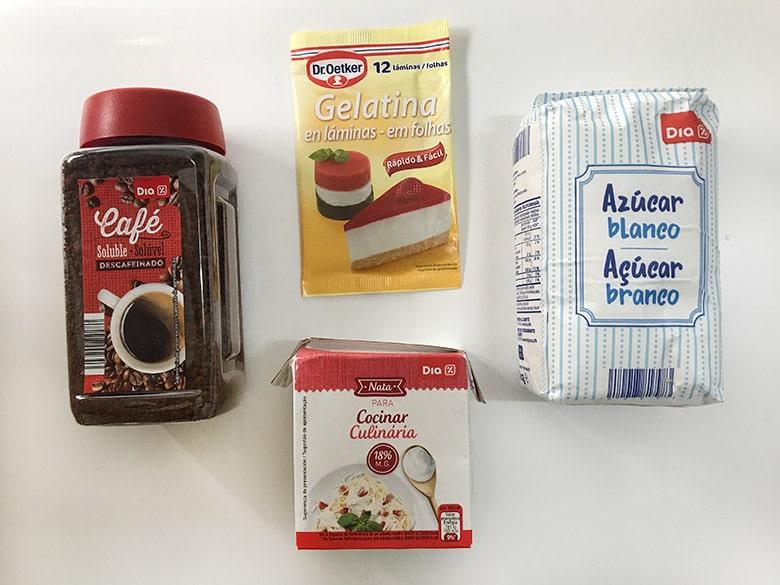 panna cotta de cafe ingredientes