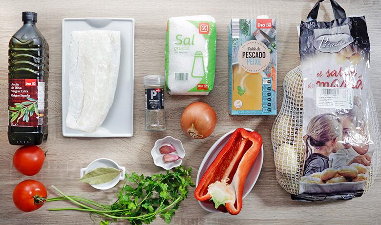 patatas con bacalao ingredientes