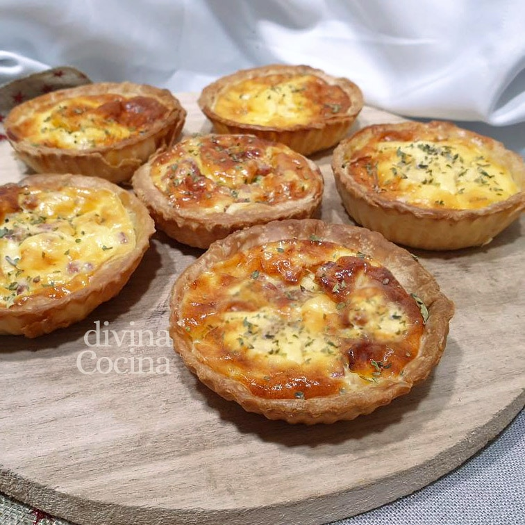mini quiches variadas