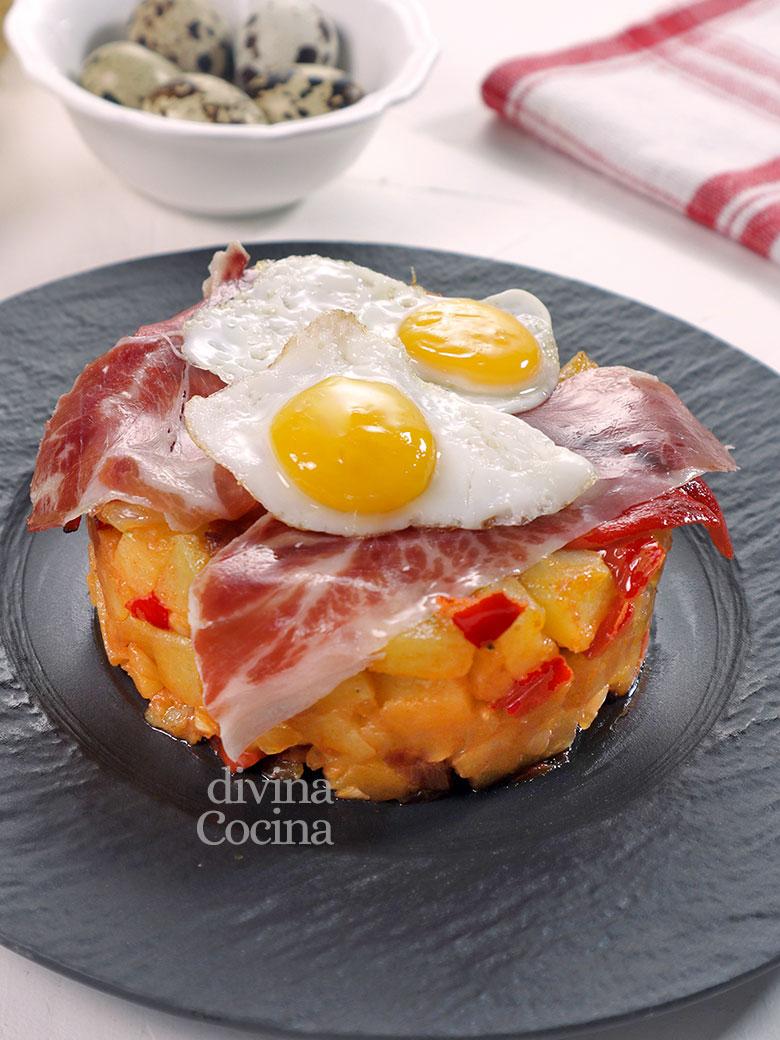 capricho patatas huevo timbal
