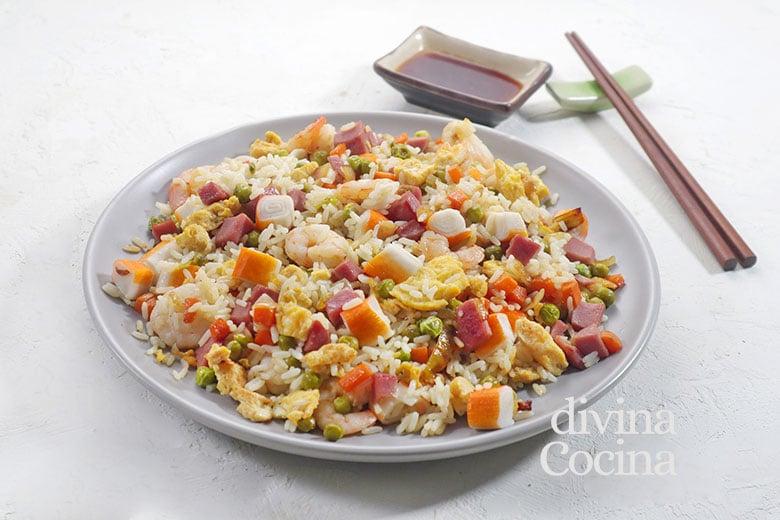 arroz 3 delicias chino